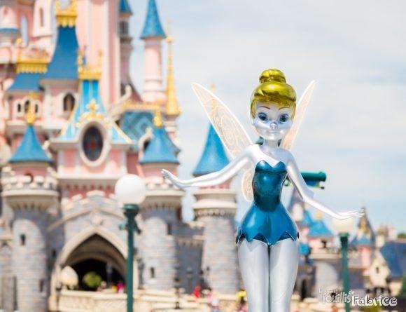 Statue de la Fée Clochette pour les 25 ans de Disneyland Paris