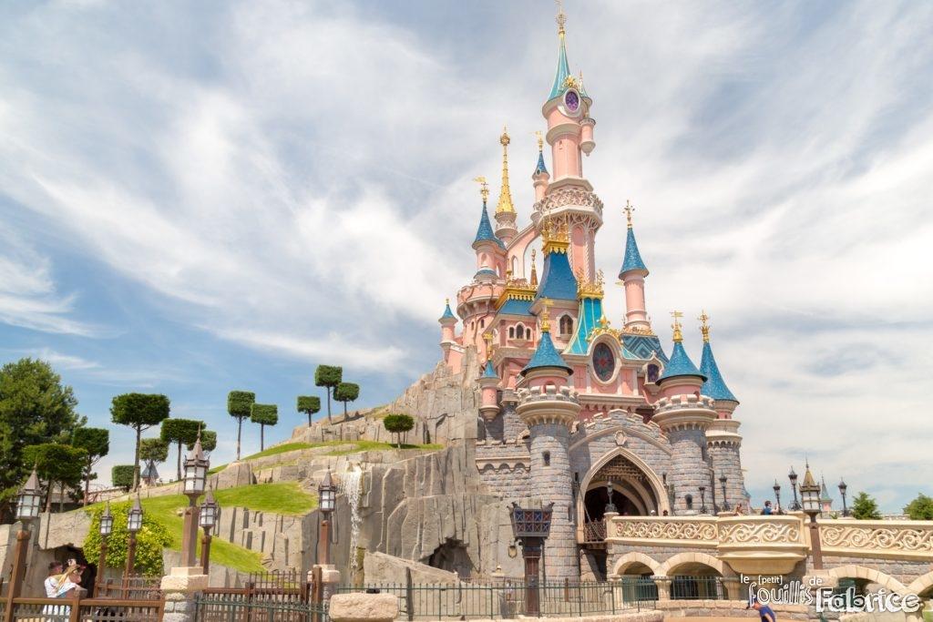 Photos du 25 me anniversaire de disneyland paris 1 le petit fouillis de fabrice - Chateau la belle au bois dormant ...