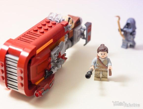 Rey's Speeder en LEGO