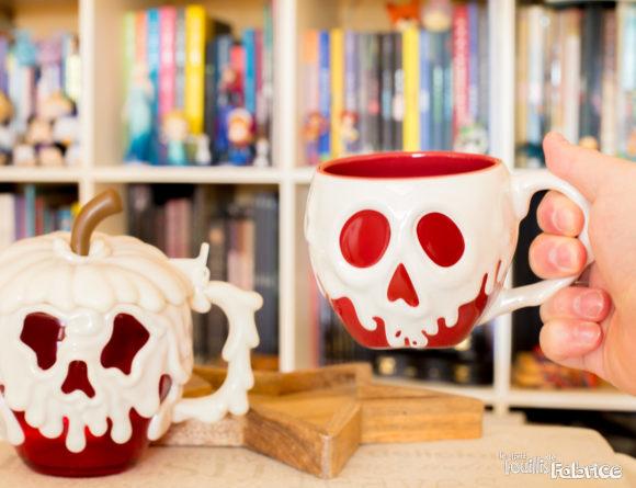 """Le Mug et la Chope """"Pomme Empoisonnée"""" venant de Disneyland Paris"""