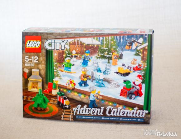 Calendrier de l'avent 2017 - La boîte LEGO 60155