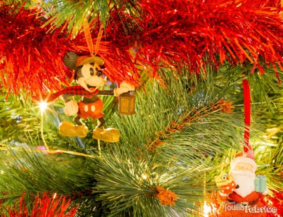 "Décoration de Noël ""Mickey"" venant de Disneyland Paris"